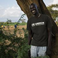 Long journey: Ger Duany has gone into acting since arriving in the United States as a refugee. | © UNHCR/DOMINIC NAHR
