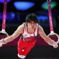 Uchimura, Biles target more gold as Rio looms