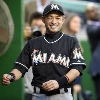 Ichiro Suzuki will stay with the Miami Marlins for the 2016 season in a deal worth around $2 million. | AP