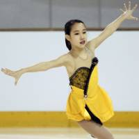 Mai Mihara, a 16-year-old from Kobe, finished second in both of her Junior Grand Prix assignments this season and has qualified for the JGP Final in December in Barcelona, Spain. | KYODO