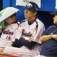 The Hawks frustrated the Swallows during the Japan Series, including Game 5 on Thursday. | KYODO