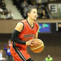 Chris Sasaki was once a member of the Chiba Jets basketball team. | CHIBA JETS