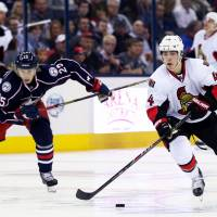 Senators overwhelm Blue Jackets