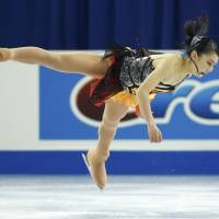 Miyahara third after short program