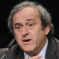 Platini left sweating on support from Europe