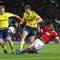 Middlesbrough dumps Man United out of League Cup