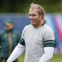 South Africa's Schalk Burger is competing in his fourth Rugby World Cup. | REUTERS