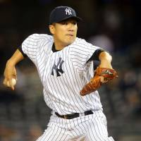 Masahiro Tanaka will make his MLB postseason debut on Tuesday against the Astros in New York. | USA TODAY / REUTERS