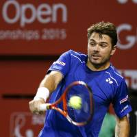 Wawrinka claims Japan Open title after clinical win over Paire