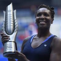 Venus collects Wuhan Open title as Muguruza pulls out in second set