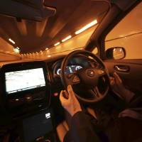 Nissan's driverless car is a safe but cautious ride
