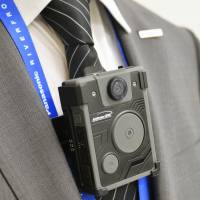 Panasonic unveils wearable camera for police officers in U.S.