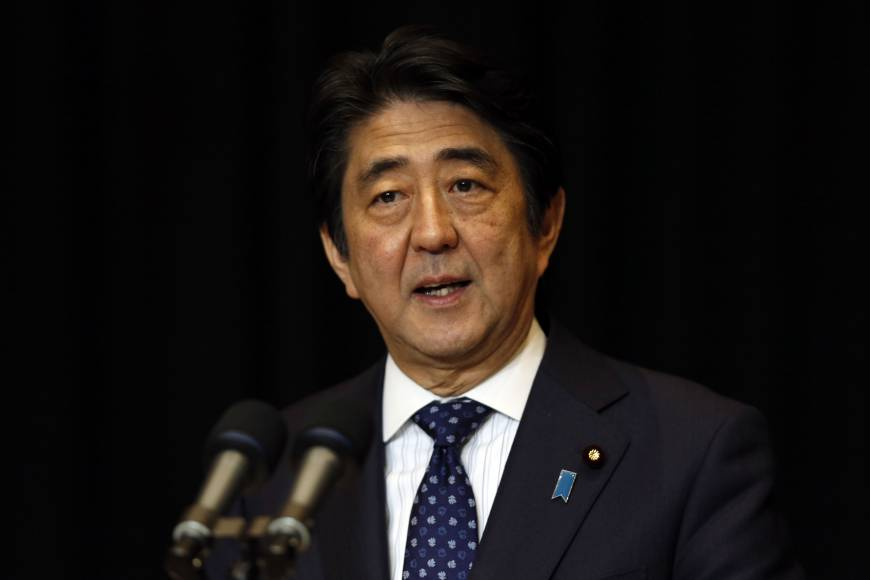 Abe wants to keep revenue loss from tax reduction to less than ¥400 billion