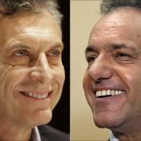 Voting starts in key Argentina runoff election between Macri, Scioli