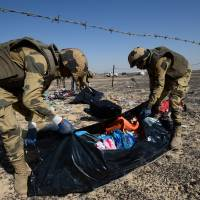 Russia says plane brought down by homemade explosive device
