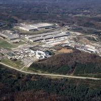 In this undated file photo provided by the Energy Department, the sprawling gaseous diffusion plant, where uranium was enriched for the World War II-era Manhattan Project is seen in Oak Ridge, Tennessee. | ENERGY DEPARTMENT VIA AP, FILE