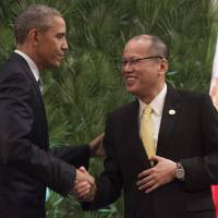 Obama 'confident' defense pact will Manila will be forged, welcomes TPP interest