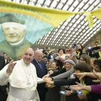 From tumor rumor to leaks, Pope takes month of Vatican shenanigans in stride