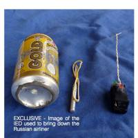 Islamic State shows soda can bomb used to down Russian jet, says it 'compromised' airport security