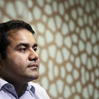 Kunal Bahl, chief executive officer of Snapdeal.com, is interviewed in New Delhi in August 2014. | BLOOMBERG
