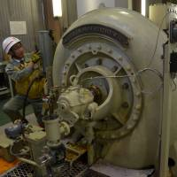 Tours provide renewed interest in Japan's oldest hydro power plant