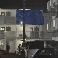 A man was found dead with his facial skin torn off Thursday in his third-floor apartment in Fussa, Tokyo. | KYODO