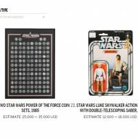 Sotheby's to auction off Japanese collector's 'Star Wars' hoard