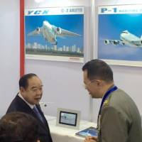 Japan firms promote defense equipment at security exhibit in Thailand