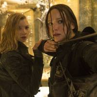Jennifer Lawrence, Natalie Dormer and Gwendoline Christie laud the heroic women of 'The Hunger Games' saga