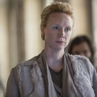 In command: British actress Gwendoline Christie plays Commander Lyme in 'The Hunger Games: Mockingjay — Part 2.' | MURRAY CLOSE