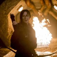 Girl on fire: Jennifer Lawrence has played Katniss Everdeen in four 'Hunger Games' films. | MURRAY CLOSE