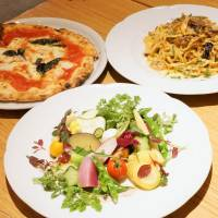 Pasta and pizza, a surefire hit with children and adults alike | MAI HAYASHI