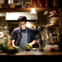 Chef Kan Morieda of Salmon & Trout is blurring the line between fine dining and fun comfort food.  | ROBBIE SWINNERTON