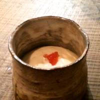 Mousse sweetened with the lees from traditional mirin (sweet rice liqueur) | ROBBIE SWINNERTON