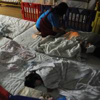 Slumber party: 