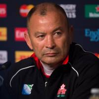 Eddie Jones has stepped down as coach of the Brave Blossoms and is set to leave Japan on Tuesday. | AFP-JIJI