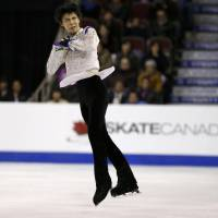 Chan beats Hanyu at Skate Canada; Murakami third