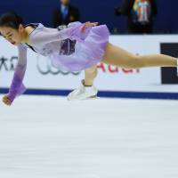 Mao Asada's victory at the Cup of China on Saturday night was the 15th Grand Prix win of her illustrious career. | AFP-JIJI