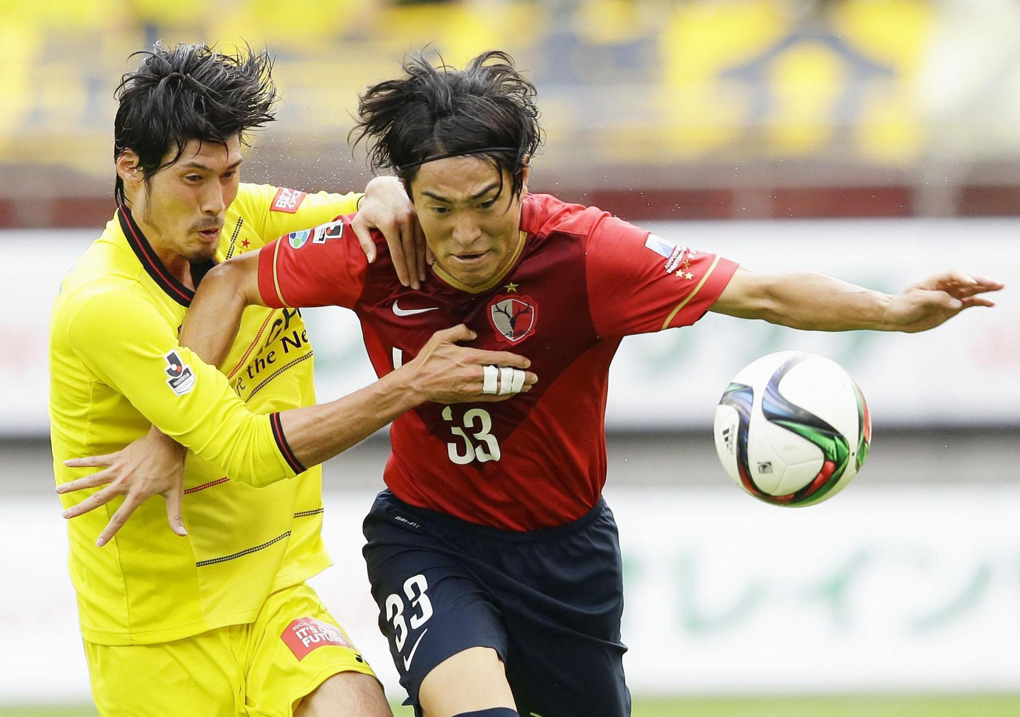 Kashima Antlers forward Mu Kanazaki has returned to the Japan squad after a five-year absence. | KYODO