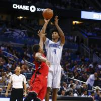 Magic deal first defeat to Raptors