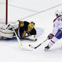Penguins rally to force OT, beat Canadiens in shootout