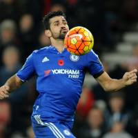 Chelsea's Diego Costa has struggled to score goals this season. He will play for Spain in Friday's friendly against England. | AP