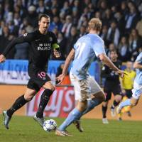 PSG routs Malmo to advance