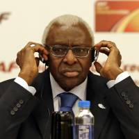 Lamine Diack, the former head of world athletics, has been placed under formal investigation on suspicion of corruption and money laundering. | AP