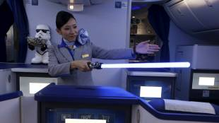 ANA sends 'Star Wars' fans into hyperdrive