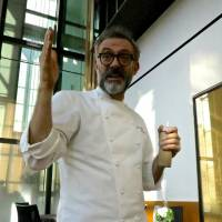 One of the stand-out collaborations of the year was at Bulgari il Ristorante, where resident chef Luca Fantin was joined by some of Italy's finest stars of the kitchen, among them the superbly innovative Massimo Bottura from Osteria Francescana in Modena. | ROBBIE SWINNERTON