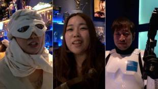 [VIDEO] Star Wars fans gather at Kanda Flux, a sci-fi movie-themed bar in Tokyo
