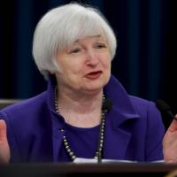 U.S. Federal Reserve Chairwoman Janet Yellen announces a 0.25% rise in interest rates on Wednesday. | REUTERS