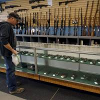 Predictable pattern: As U.S. gun sales shoot up after California carnage, makers' shares spike