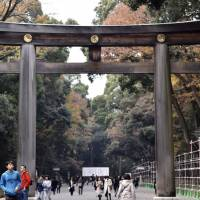 This torii gate is one of the biggest in the country. Make sure to pass under it on the way into Meiji Shrine. | MIINA YAMADA
